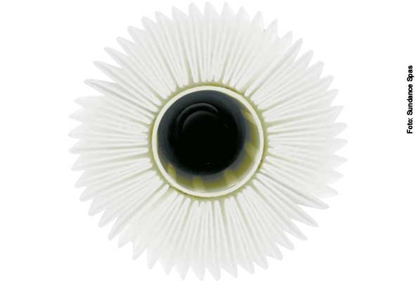 Komponente1: Der Wasserfilter (Kartuschenfilter)