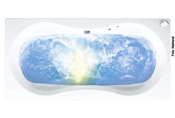 Whirlfunktion in der Badewanne