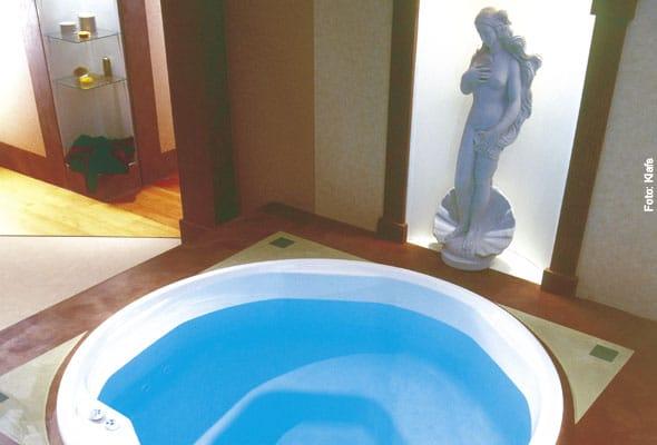 Römisches Whirlpool-Ambiente