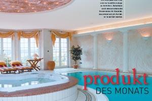 Redaktionelle Nennung Pichler Whirlpool aus dem haus&wellness Magazin