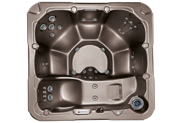 Whirlpool Dimension One Spas Dream Draufsicht