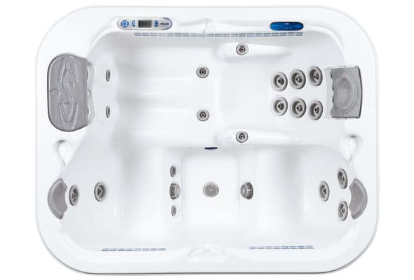 Whirlpool Dimension One Spas Triad II Draufsicht