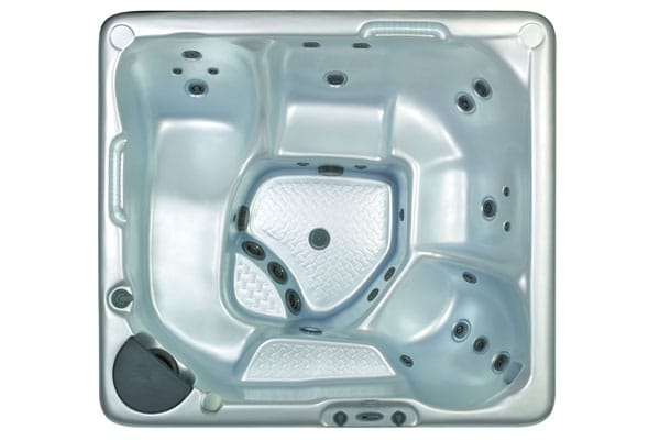 Whirlpool Beachcomber Hot Tubs 350 Draufsicht