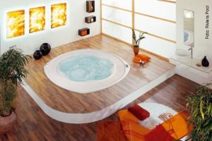 Indoor-Whirlpool: Was es zu beachten gibt