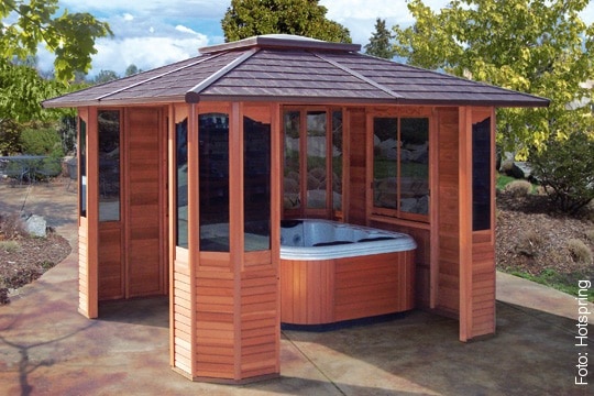 whirlpool outdoor mit berdachung. Black Bedroom Furniture Sets. Home Design Ideas