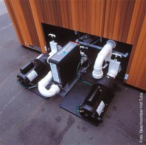 Die Whirlpool-Pumpen