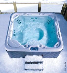 Winter-Wonnen im Whirlpool