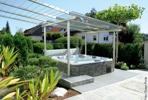 Das Garten-Schmuckstück: Der Whirlpool
