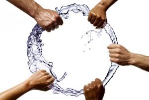 Der Weg des Wassers im Whirlpool