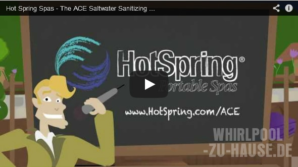 "Video: Hot Spring Spas ""Ace"""
