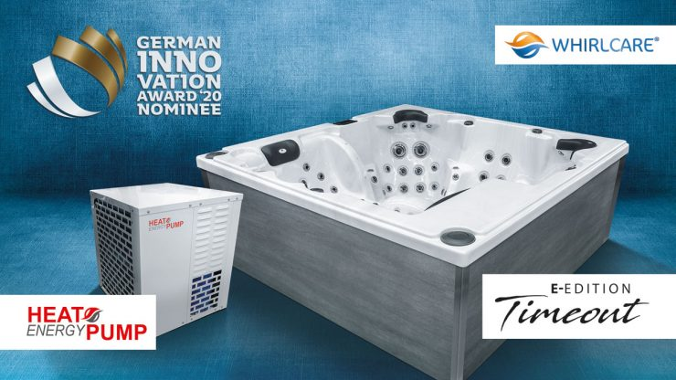 Whirlcare zweimal für German Innovation Award 2020 nominiert