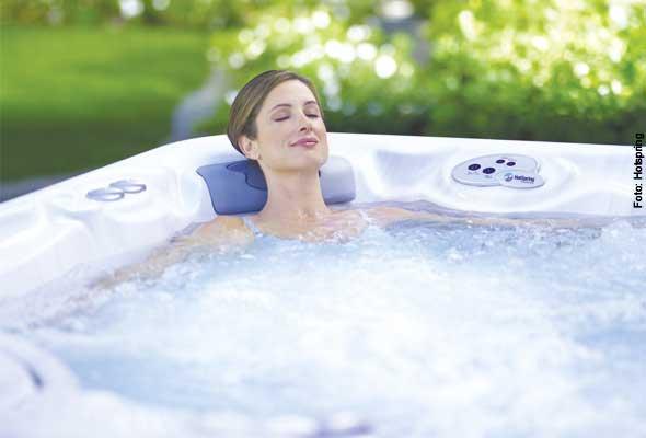 Locker bleiben - Massageeffekte im Whirlpool